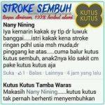 testimonial kutus kutus untuk stroke